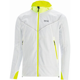 GORE WEAR R5 Gore-Tex Infinium Insulated Jacket Men, white/neon yellow